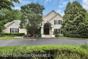5 bedroom, 3.5 bath Colonial in desirable Little Silver.