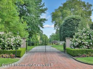 "Welcome to ""Riverfields Estate"" situated on over eight acres in the heart of Rumson just minutes to ferry service into New York and all beaches."