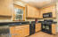 Nice appliances and gorgeous granite