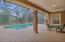 Screened-in pool