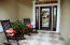 You couldn't ask for a lovelier welcoming entryway to your home than this one....