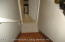 Stairs to finished basement