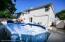 Spacious Backyard with Pool
