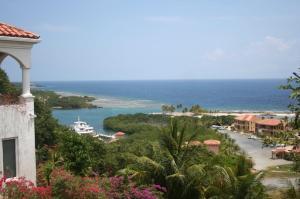Views of marina and resort