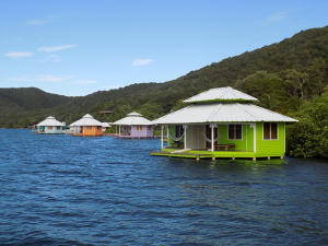 New Port Royal, Mango Creek Lodge, Roatan,