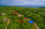 Aerial view of Tamarind Drive - Please note that only lot 1 is included in this listing