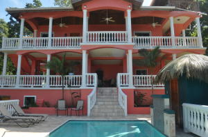 in West Bay, Seaside Estate Luxury Living, Roatan,
