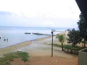 Sandy Bay East Entrance, Beach Cabana, Roatan,