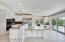 Gourmet Kitchen With Built-In Granite Table