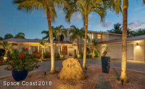 Property for sale at 469 Bimini Lane, Indian Harbour Beach,  Florida 32937