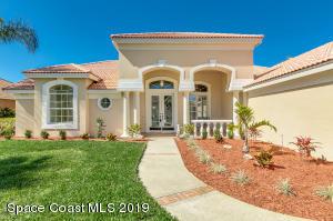 Property for sale at 209 Lanternback Island Drive, Satellite Beach,  FL 32937