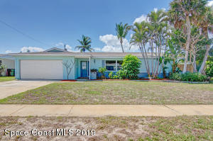 Property for sale at 911 Golden Beach Boulevard, Indian Harbour Beach,  Florida 32937