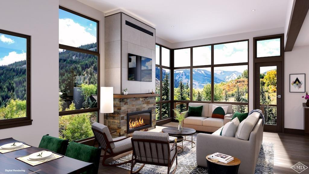 Brand-new construction in a stunning riverside setting by East West Partners. Every day feels like vacation with easy access to Beaver Creek skiing and world-class amenities at the neighboring Westin hotel. Enjoy walls of windows highlighting iconic ski-slope and river views, an open floorplan and modern, yet sophisticated finishes. Features include vaulted great room with a spacious deck overlooking the Eagle River, 2 master suites and oversized 1-car garage. Customizable for a limited time.