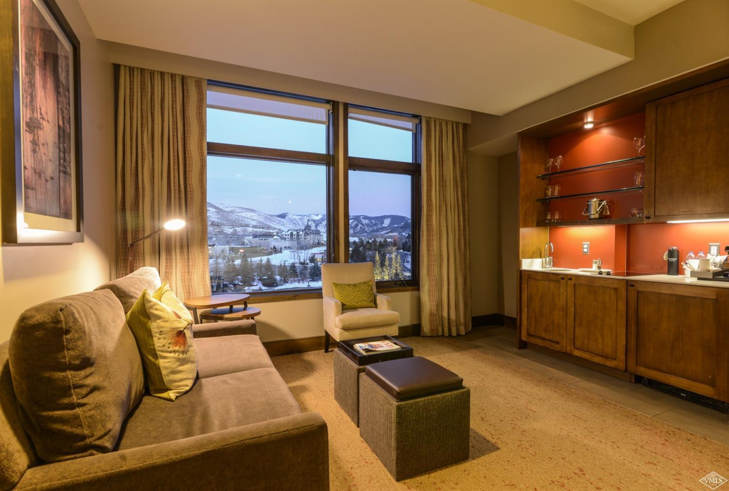 One of the larger East-facing studios in the Westin Riverfront Resort & Spa. Take the gondola directly to the slopes! Low maintenance ownership-everything included in HOA dues (except taxes)! Dues also include use of fitness center, pool, hot tubs, luxury spa, and underground parking.