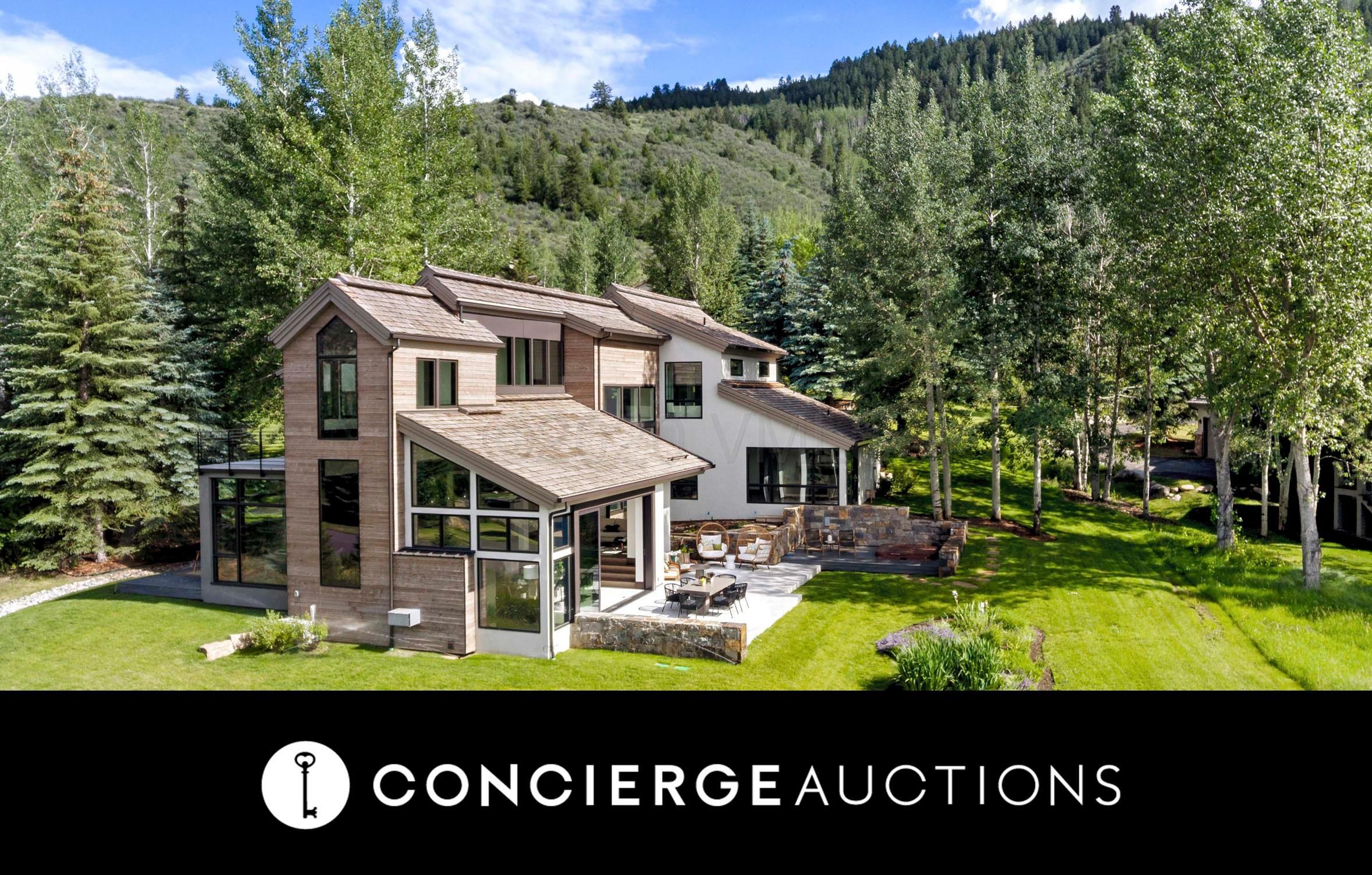 AUCTION OPEN: High bid is currently at $2.8M. Previously listed at $4.245M. No Reserve. Open daily 1-4, and in-person/virtual showings by appointment. Auction details/Register to bid: https://mailchi.mp/conciergeauctions.com/auction_alert_1_19_2018-340795Settle into a relaxed state of mind at 144 Castle Peak Gate, a contemporary mountain escape with effortless luxury in mind. A muted mix of natural materials from stone to dark hardwood plays off the crisp white walls creating a serene vibe. Walls of glass perfectly frame your spectacular mountain setting, a reminder to sit back and take it all in. The interior flows seamlessly to the outdoors through telescoping glass doors, where a patio stands ready to host family dinners and conversations. Take your morning coffee or your yoga mat to the upstairs deck. Your glorious, light-filled main-level master is surrounded by glass and mountain views, creating a serene and intimate escape. Luxurious finishes bring a touch of the city to this newly renovated property, creating a modern mountain estate to enjoy year-round.