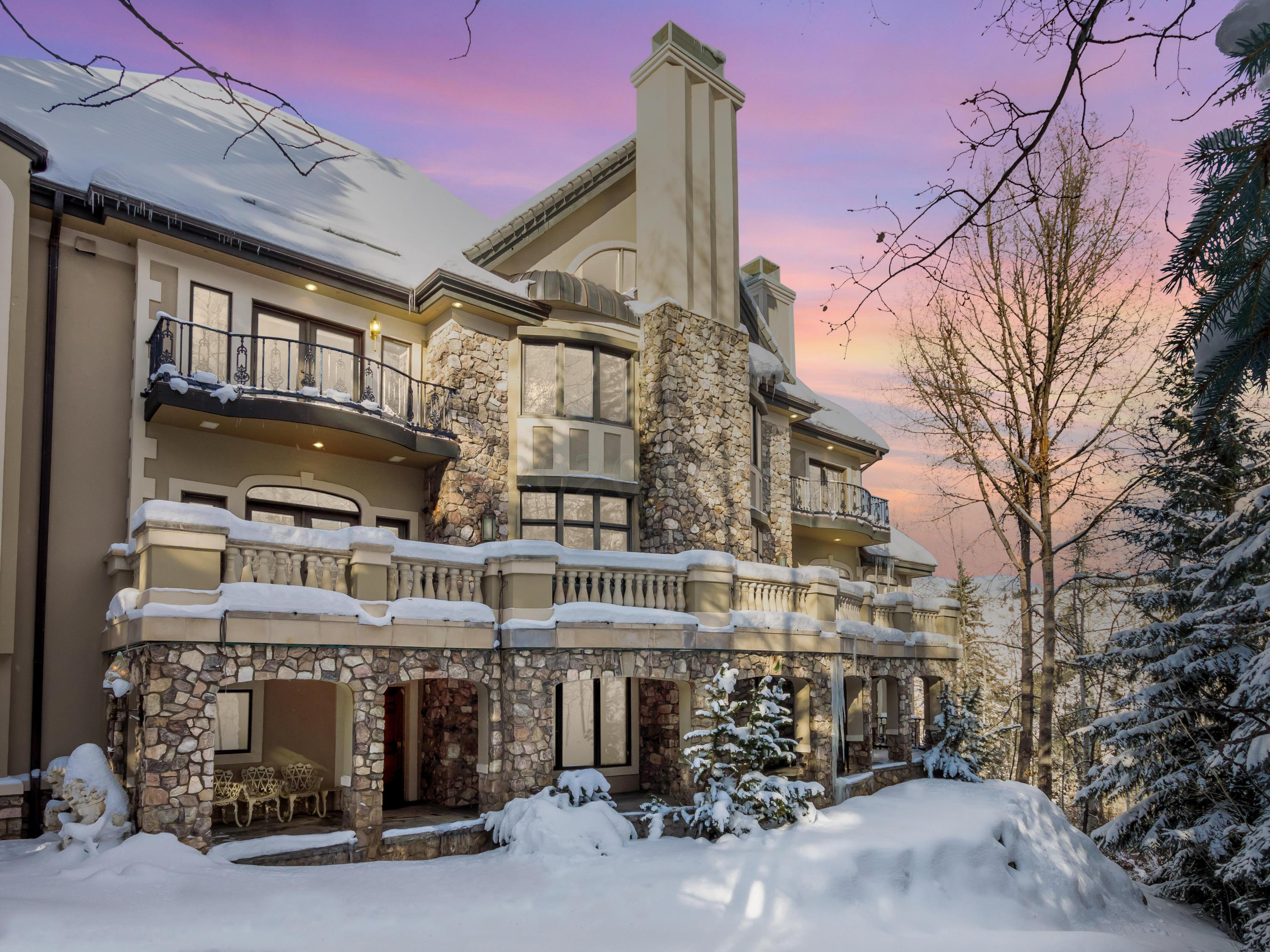 Reminiscent of the chateaus on the fabled Cote d'Azure, this 8-bedroom European-inspired contemporary manor is the pinnacle of elegance and prestige. Fall in love with the attention to detail, rich textures, romantic decorative forms, superb terraces and exceptional views of the ski mountain. Located within the gates of Beaver Creek, this iconic residence is a must-see for the refined buyer. Relish in quintessential Colorado living in this private, perfectly executed estate.