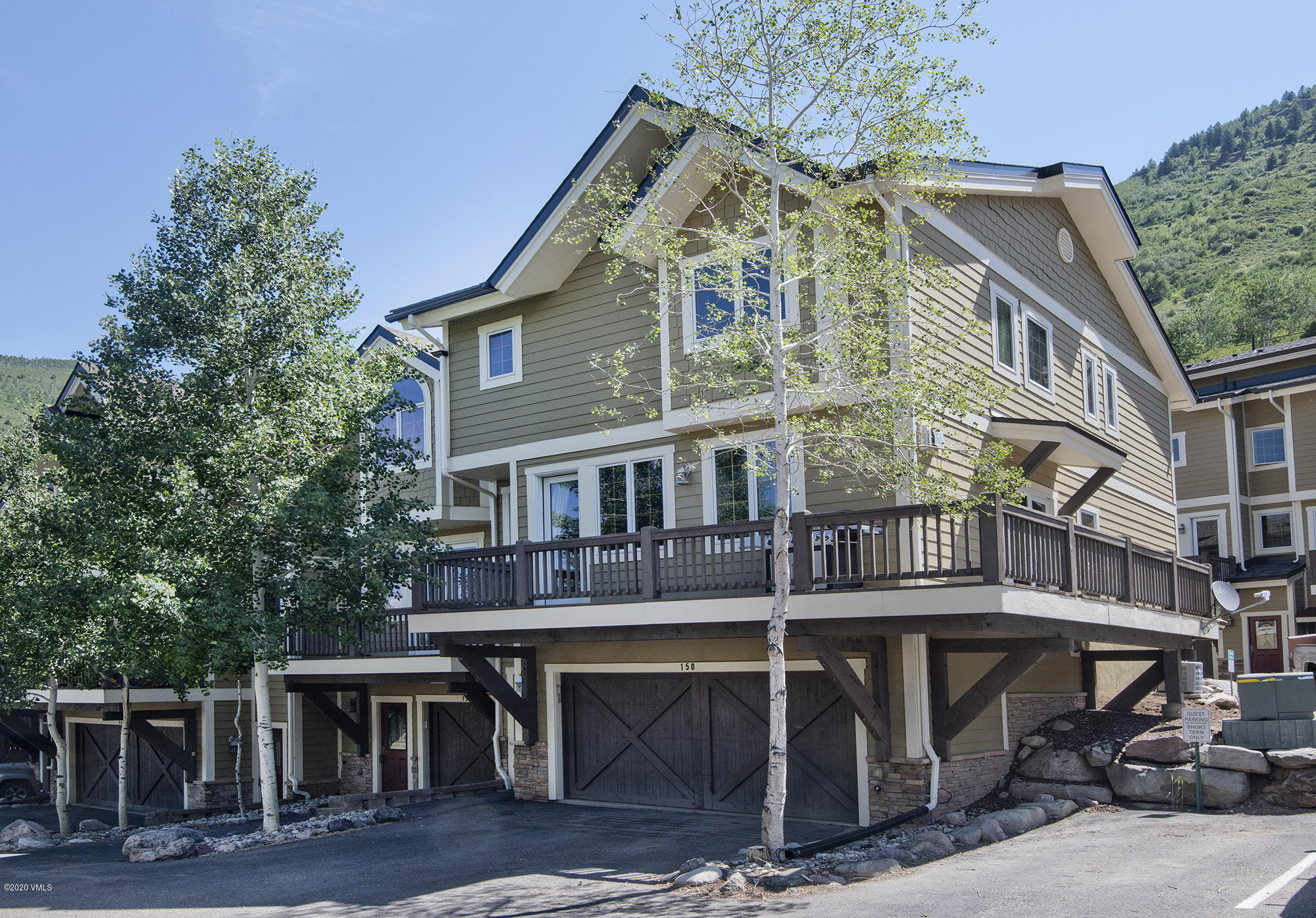 The perfect Minturn TH for which you have been searching has just come to the market!  The most-desired floor plan with all bedrooms on the same level, huge entertaining level complete with wrap-around deck, and a 2-CAR GARAGE!  Even bigger benefit is the lockable storage room in the back of the garage. Think...the BEST toy storage in all of Minturn TH!  Direct access to all the outdoor activities you keep saying you want to chase. Ski home via the Minturn Mile. Paddle The Chute. Hike Meadow Mountain. Flyfish the amazing Eagle River & Gore Creek. Tame Polly's Plunge on your mountain bike. Summit Holy Cross via the Halo Route. You can also stroll to the Turntable for unreal breakfast, the Saloon for epic apres, & the Minturn Market for unique goods. Your mountain landing pad!