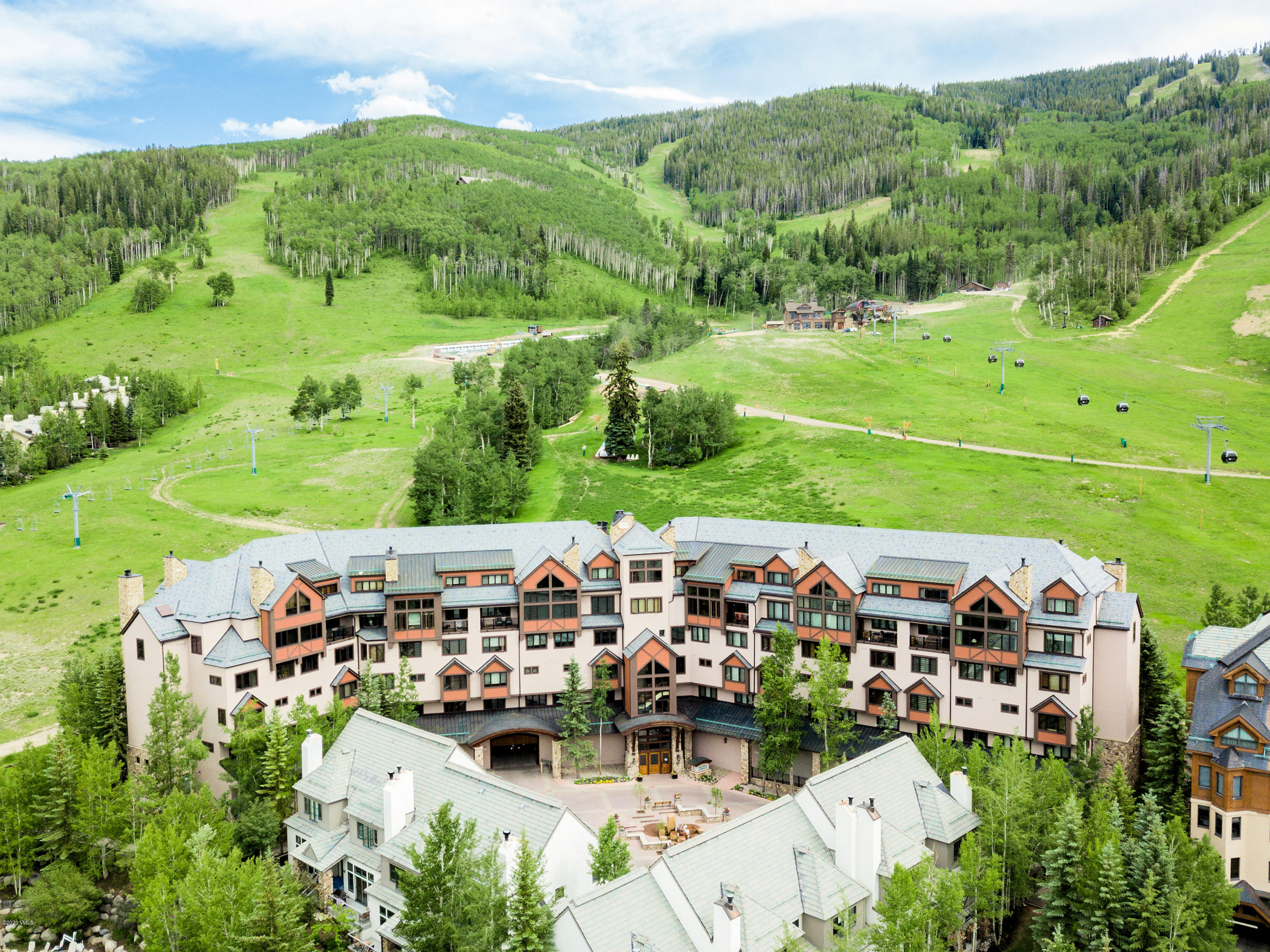 Ski-in to your three bedroom Slopeside getaway. Nestled in one of Beaver Creek's most esteemed neighborhoods, this stately retreat was built with convenience and ease in mind. Cozy up in front of the wood burning fireplace or walk out of your front patio directly to the slopes. Enjoy nights in, in this peaceful home in the heart of Beaver Creek. This timeless luxury retreat offers boundless alpine views from your back door. With an outdoor heated lap pool, a separate children's pool, 3 hot tubs, front desk concierge, a fitness room and more, the amenity package is world class. Welcome to Slopeside living. ----------------------------------------------- -------------- Beaver Creek the motto is ''Not Exactly Roughing It'' and those who choose to live in this gated and private residential community set amidst the grandeur of the Rocky Mountains certainly echo the sentiment. Beaver Creek's superior amenities, Colorado Charm, and overwhelming natural beauty present an incomparable venue for mountain living, year-round recreation and cherished family traditions. Your ultimate luxury escape.