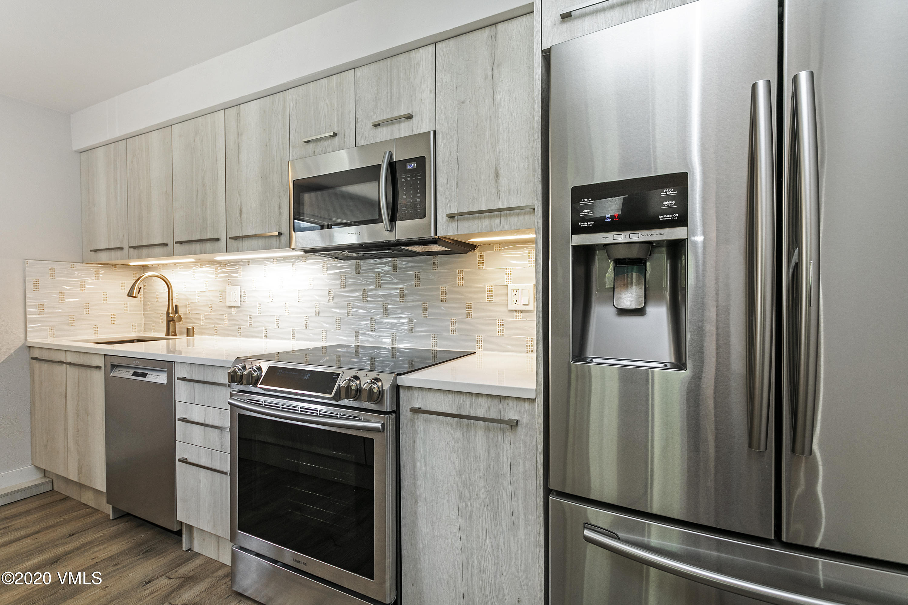 Fully remodeled modern condo, gorgeous floors, beautiful kitchen and bath, extra storage space for gear and only steps to the town shuttle for ski access. This home must be occupied by someone working 30 + hrs a week in Eagle County. Perfect Primary or any investor can buy & rent it long term - Currently getting $2100 a month.  Lease in place until end of ski season.  No Transfer Tax - Exemption possible!