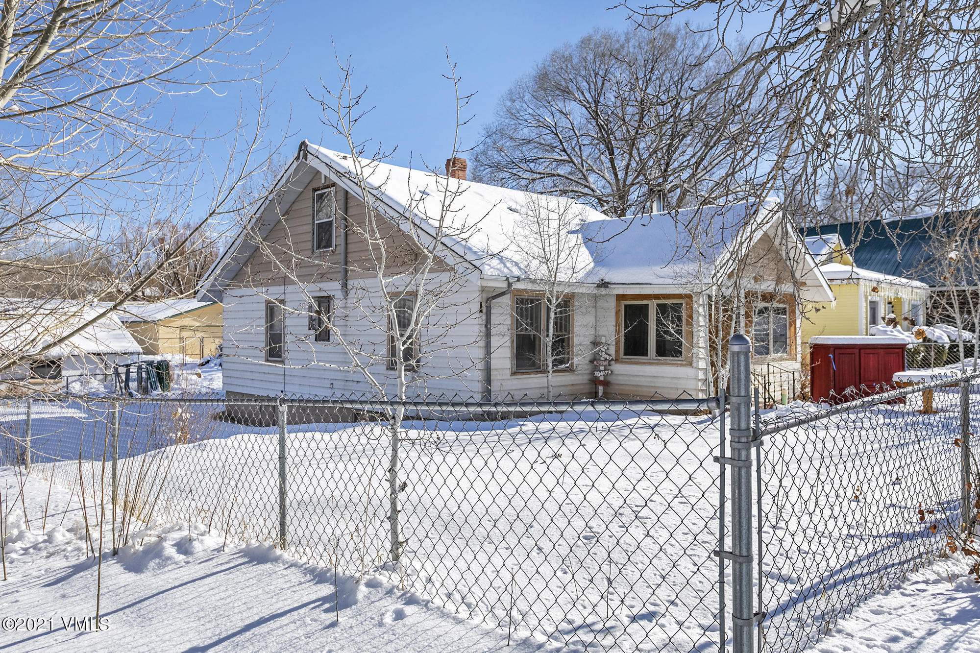 Fantastic opportunity to own in old Gypsum, no HOA's large corner lot with plenty of potential with a commercial zoning, walking distance to Eagle Valley High School, Ridley's Gypsum Rec Center, parks and baseball fields. This property has 3 bedrooms and 1 full bath with 2 additional 1/4 bathrooms and a detached garage.