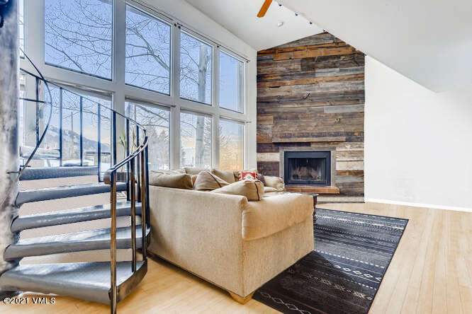 Fantastic opportunity to own in Eagle Vail. This spacious  2 bd ground floor condo lives like a townhome and is ideally located in one of the best Eagle Vail locations just across from the Golf Course and steps away from swimming pool, tennis courts and playgrounds and just 10 min away from Vail & Beaver Creek mountain. You will enjoy the southwest natural light, wood burning fire place, open floor plan & gorgeous sunsets. Did we mention the underground parking and heat included in the dues? Offered partially furnished. Welcome Home!