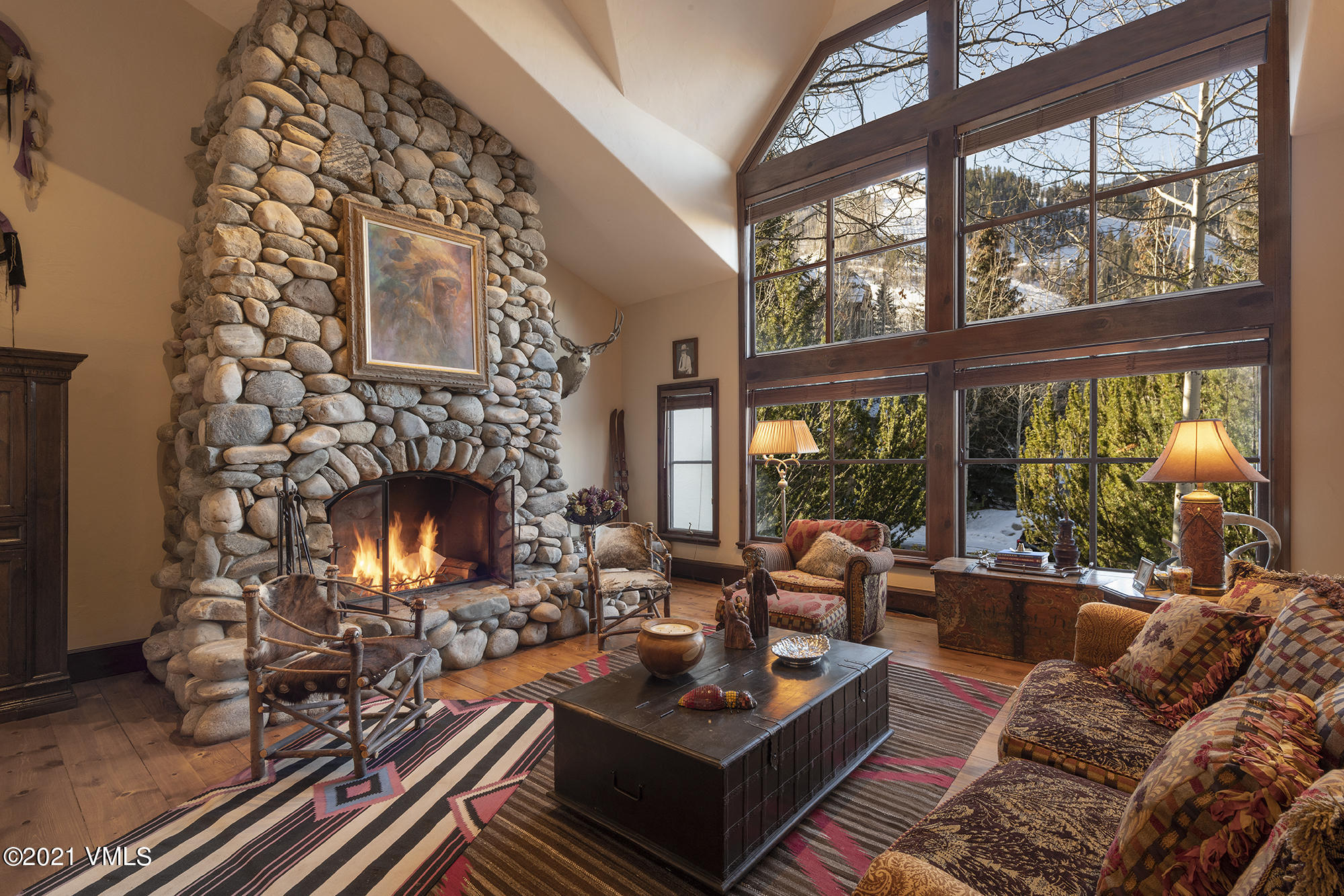 SaddleRidge Villa #12 is a premier offering with direct views to Beaver Creek Mountain. Owners enjoy the spacious floorplan, over 3600 square feet, offering two living areas, large bedroom suites and ski slope views.SaddleRidge is amenity rich, ski-in community within the gates of Beaver Creek that offers an indoor/outdoor pool, restaurant, fitness, hot tub, and library. Offered beautifully furnished with original antiques and artifacts. mls.SaddleRidge12.com