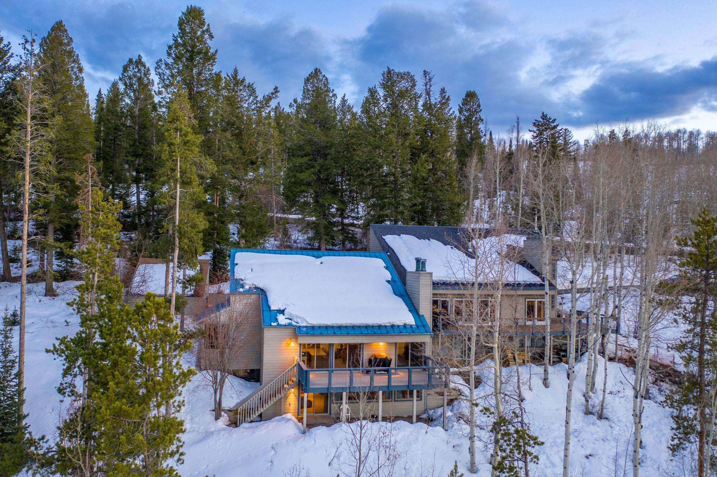 Amazing views abound from this ''cabin in the woods'' on Bellyache Ridge. This peaceful location features open, main floor living, with an expansive deck, 2 wood burning fireplaces and a downstairs rec room. This could be the mountain escape you've been looking for. Call for your private tour!