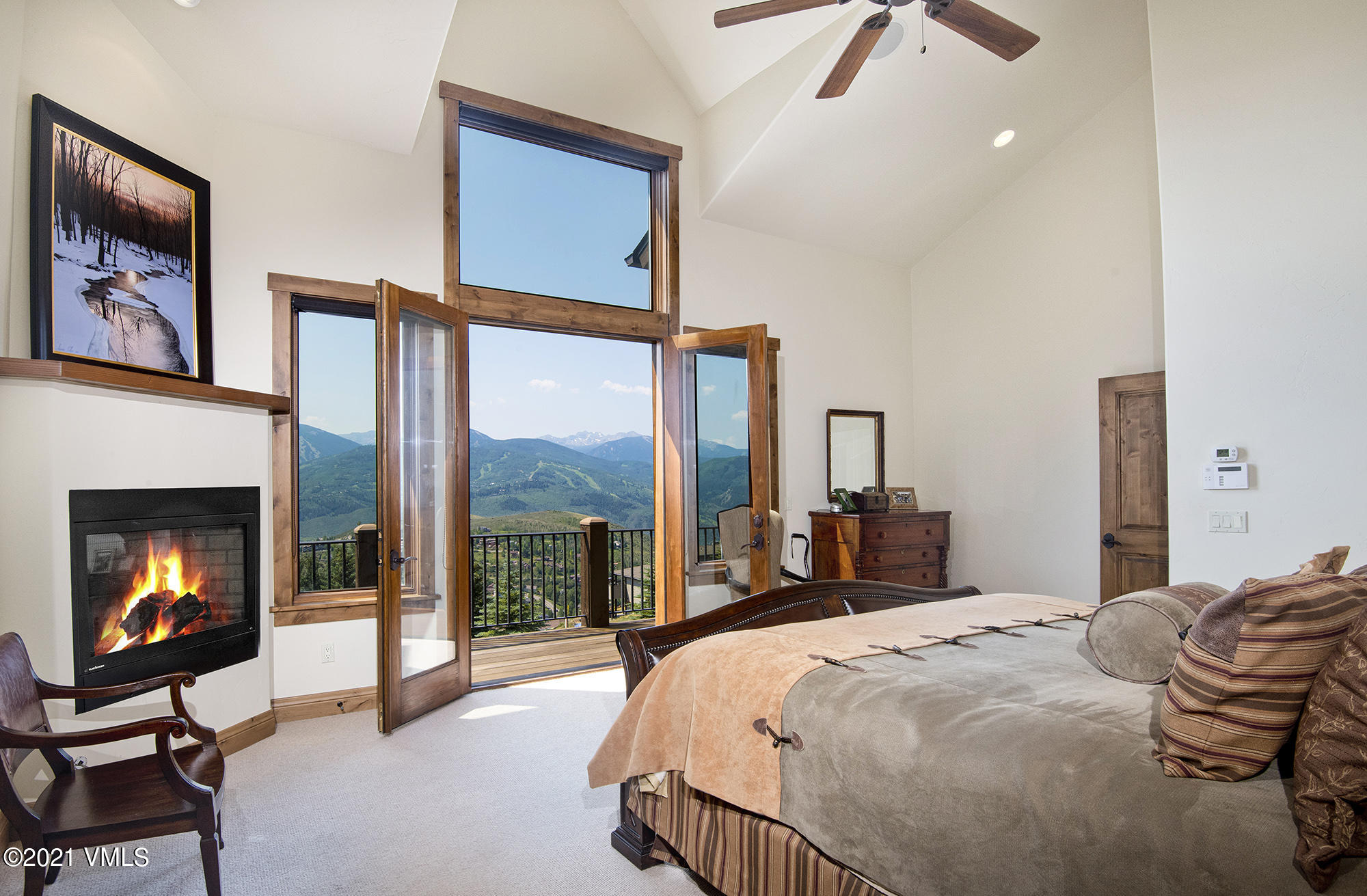 This spectacular home is thoughtfully perched high above the noise and valley floor, with magnificent views of Beaver Creek's ski slopes and the cascading Sawatch Mountain Range!  Proudly built in 2005 by a former George Schaffer contractor; the construction and finish-level are superior, with a long list of accoutrements such as hickory scraped floors, premium iron balusters-rail spindles, oversized, solid-wood doors with rustic bronze lever sets, expanded base & case, travertine tile, Kohler designer fixtures, steam showers with euro-glass enclosures, granite countertops, stainless steel appliances, built-in cabinetry, media room with projector & movie screen, custom wet bar with refrigerated drawers, dumb-waiter to kitchen, heated stone entry snowmelt, convertible 6th bedroom/wine room and a new 3/4 bath, added bedroom ceiling fans and A/C in the master, executive office and top floor rec-media room.  The floorplan is free flowing with ample windows, vaulted ceilings, and abundant natural light.  The large kitchen, dining and hearth room are cozy and marry well with the spacious living room by a handsome two-sided rock, wood-hearth, fireplace.  The home has an extensive audio sound system, multiple control panels and built-in speakers throughout!  Ipe Wood Decking wraps the exterior of the home, complete with a newer BBQ and Hot Springs Spa that enjoy perfect sunsets.  Kids and adults will find the sloped backyard a winter sledding haven!  All bedrooms are equally dispersed throughout 3 levels for privacy, each with En-Suite bathrooms and large closets.  For convenience, each level of the home has a laundry, and, the master bedroom and executive office are on the main level.  This home will certainly meet or exceed all your mountain lifestyle needs and desires, summer or winter, it's a perfect entertainer for friends and family and easily sleeps 15 to 17 people.  Come see this home soon before its gone, it's in mint condition and a real showstopper!