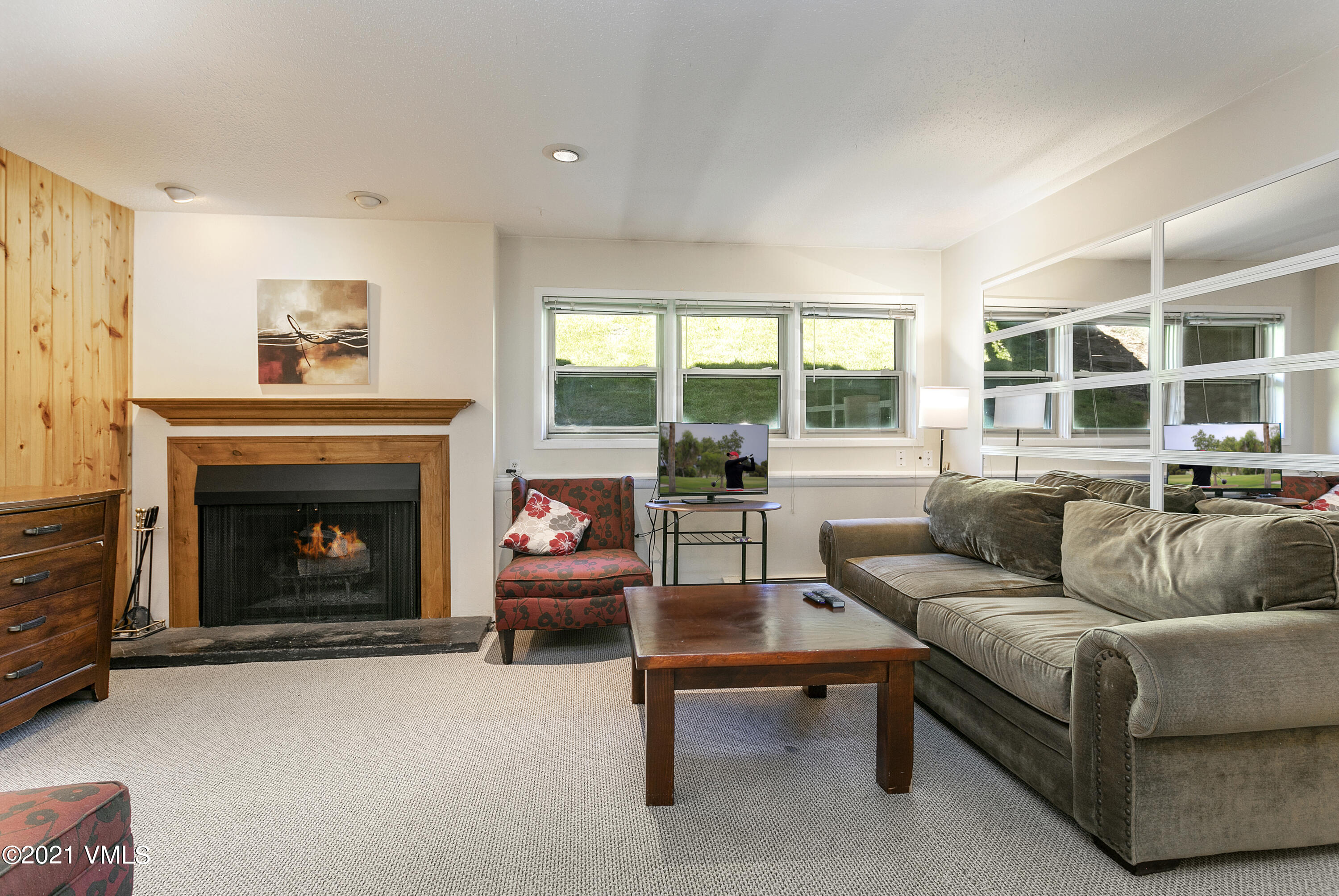 Lots of potential in this wonderful ground floor 2 BD condo. Great location-next to Town of Vail bus stop or Frontage Rd sidewalk that allows you to walk into Lionshead Village. Building has recently upgraded many interior items. Heat included in HOA dues! Great investment condo or primary residence in Town of Vail!