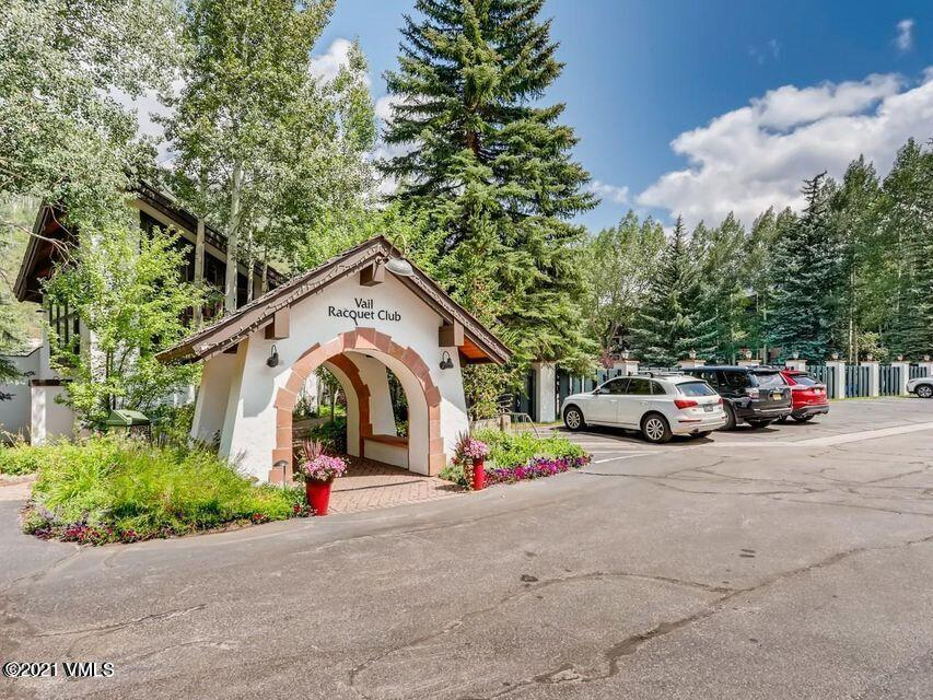 Turnkey, 1 bedroom, 1 bath, Creekside unit with in the Vail Racquet Club Condos. Bask in the Alpine setting when you step out of your home and find yourself surrounded by many of the Racquet Club amenities; year-round pool, gym, hot tub, restaurant/bar. In addition, tennis, pickle ball, nearby bike paths and hiking trails in the summers - all for a rich mountain life. You'll be happy to know that there is a bike house for homeowners to store their bike(s) and a concierge/front office staff, and an in-house management team for your convenience. A great rental property. Leave a smaller carbon footprint and take the free Town of Vail bus to all that Vail, and Lionshead Villages have to offer. This charming, turnkey mountain condo is for you or someone you love.