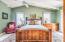 Large Master Bedroom features full set of Henredon burled wood furniture
