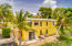 Entrance and patio to eastern efficiency apartment which also boasts views to Green Cay