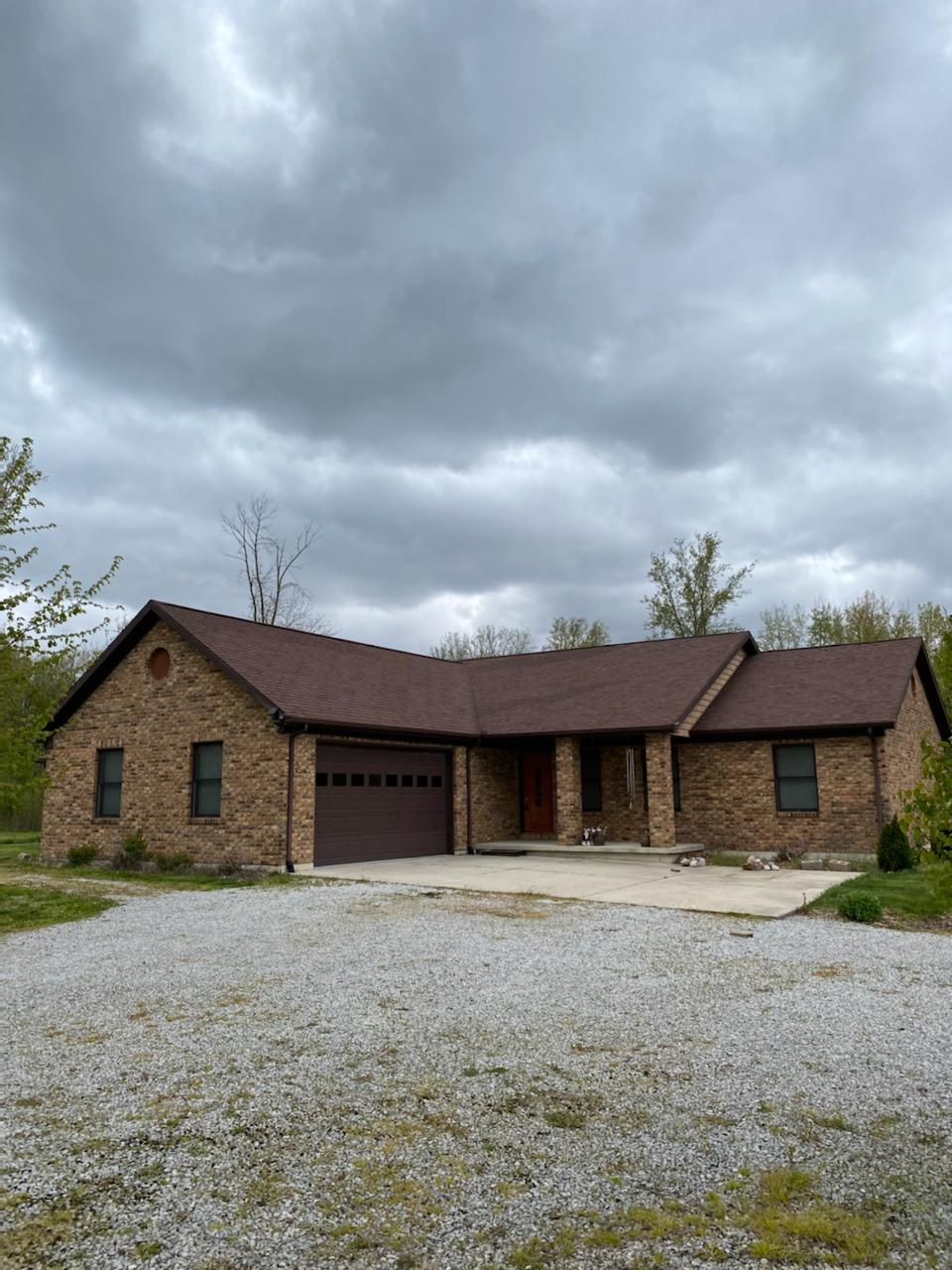 Check out this neat as a pin, channel front home! Boasting just over 1700 sq ft. this brick ranch was built in 2007. No flood insurance required, the covered patio has electrical and plumbing roughed in for a wet bar/ bathroom. Sit on your patio and enjoy the wildlife and lake traffic! Inside is finished with 6 panel solid oak doors, Solid oak trim and much much more. The property is situated in the rear of the amazing Hecht's Landing. Call your favorite agent and schedule your showing today!