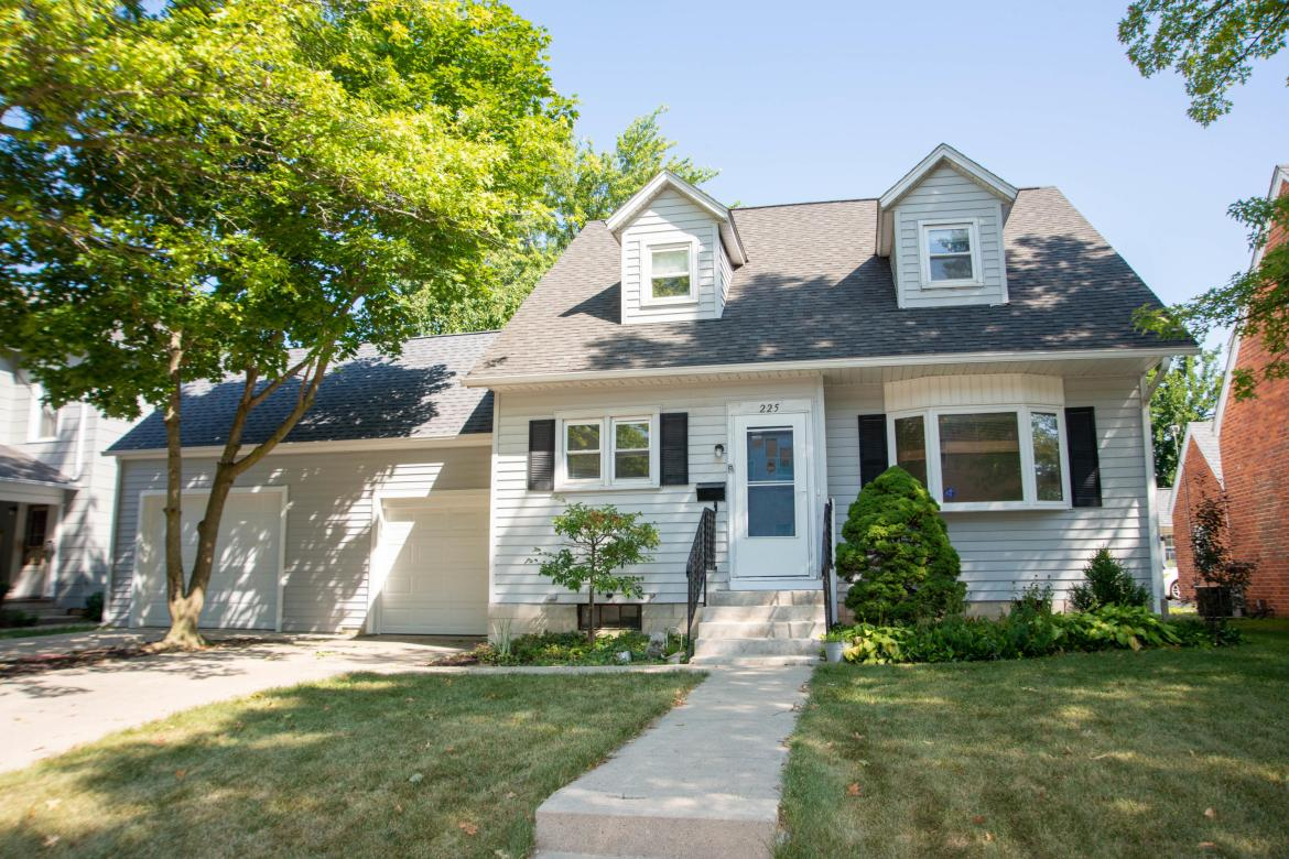 This home is a must see.  In 2001 owners added a 28' x 24' addition which includes  modern kitchen, family room with skylights, full concrete basement and two decks.In 2017 the owners added  to the existing garage  28'x 21'.  Above the garage addition is a floored attic with plenty places to store.  New roof was put on main house in 2017.  In 2019 after tornado, the owners replaced the skylights and roof on the addition.  This home has two HVAC units.   One was replaced in spring of 2020.   Other system was installed in 2001.  New system is high efficiency.  Three bedrooms on the second floor plus another room that can be also be used as a bedroom. The master bedroom has lots of closets and two custom wall drawers.  A downstairs room has been used as a bedroom from time to time..   First floor office, living room, dining room and so many build ins I couldn't count them all.  .  Side deck with shade perfect for those evening barbecues. Shed for all the yard tools Across the street from the IC school and church