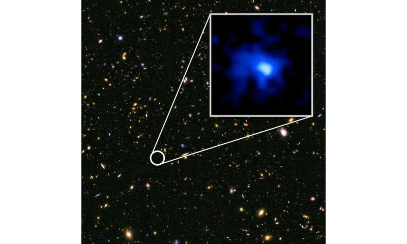 Astronomers unveil the farthest galaxy