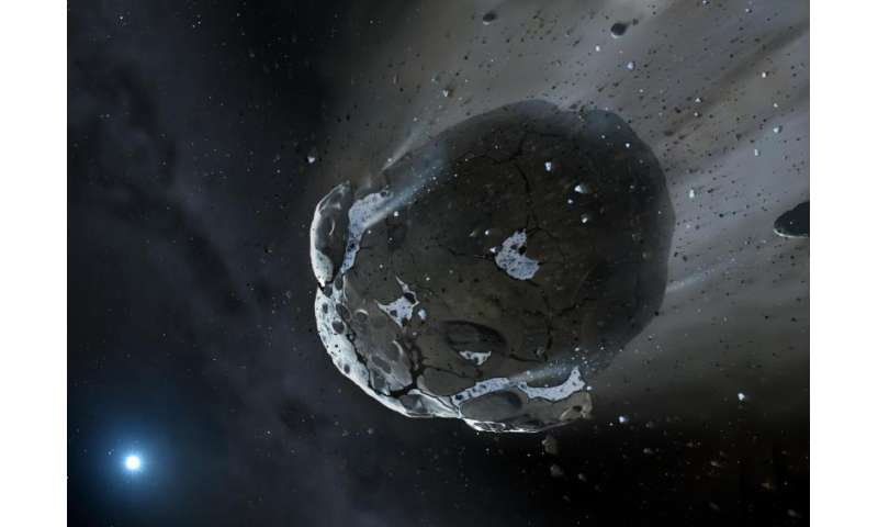 Fresh evidence for how water reached Earth found in asteroid debris