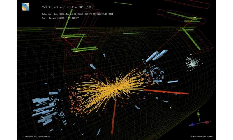 Image credit: Taylor L; McCauley T/CERN