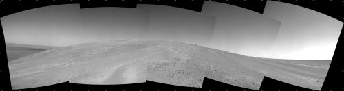 Mars rover Opportunity heads uphill