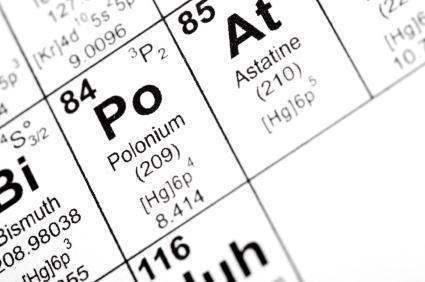 Scientists theorize properties of fleeting astatine