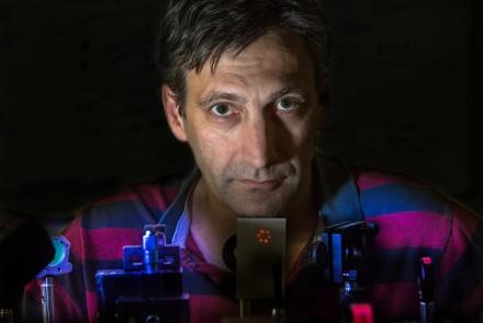 Spiral laser beam creates quantum whirlpool