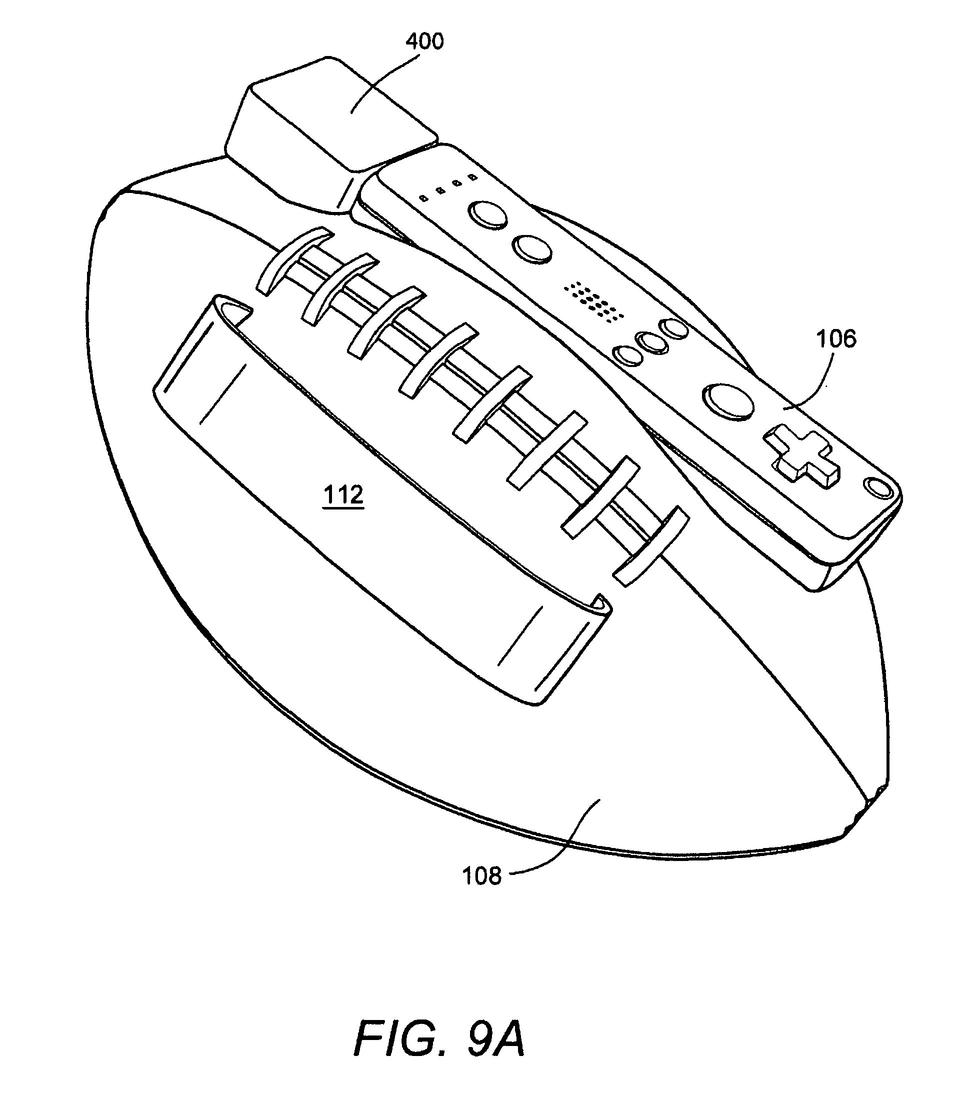 Patent: Nintendo's Wii Football Controller