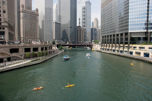 kayaking in chicago