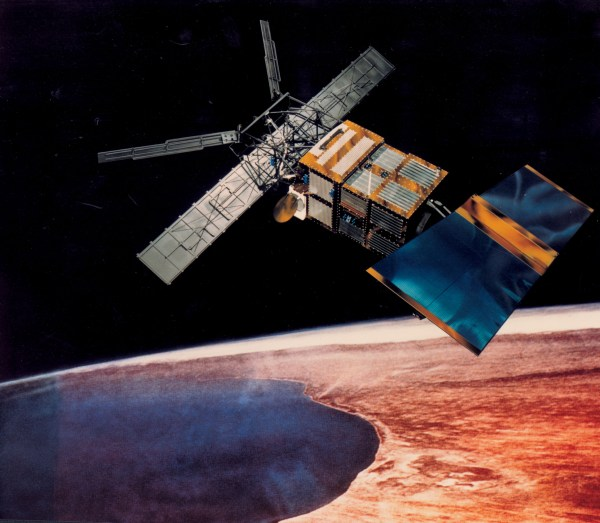 Earth Remote Sensing Satellite