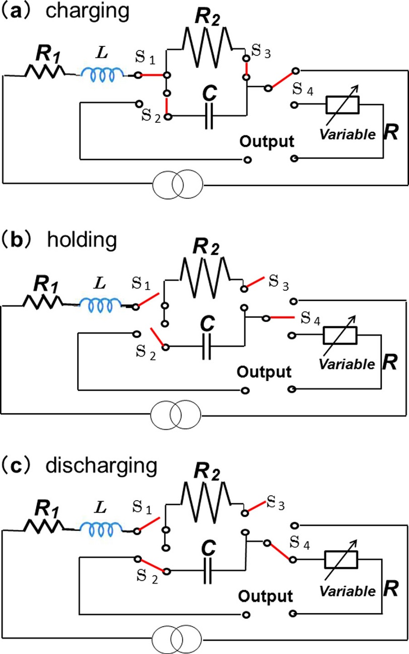 Can capacitors in electrical circuits provide large-scale
