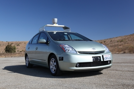 Google driver-less car