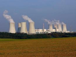 Nuclear power plant in Dukovany, Czech Republic. Image credit: Petr Adamek.