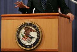 The US Justice Department has acknowledged an intrusion into its computer network
