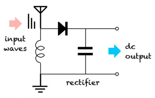 Rf Rectifier Circuit RF Oscillator Circuit Wiring Diagram