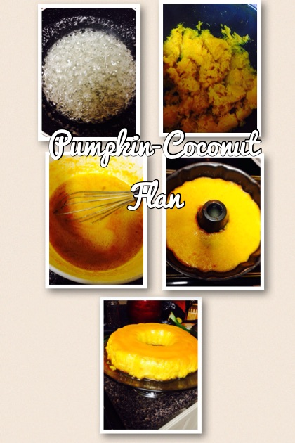 Pumpkin-Coconut Flan