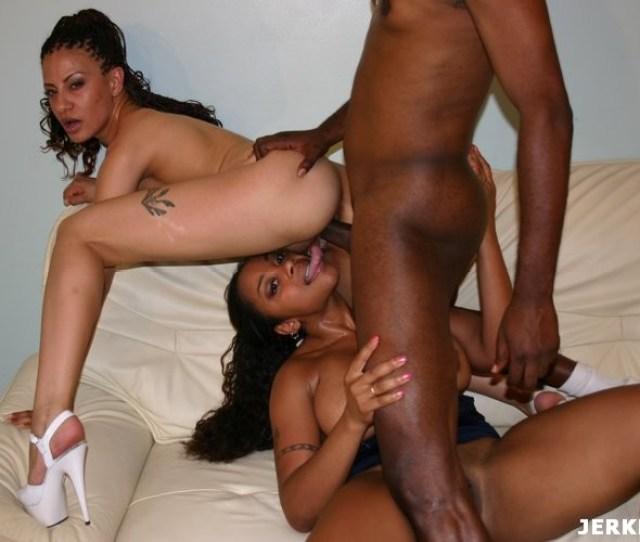 Naked Black And Ebony Black